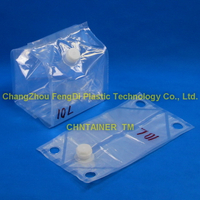 AdBlue solution packaging chntainer cubebag 10 litres